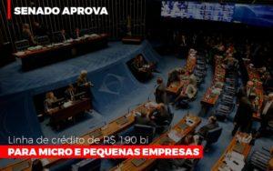 Senado Aprova Linha De Crédito De R$190 Bi Para Micro E Pequenas Empresas - Contabilidade KM