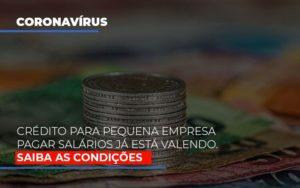 Credito Para Pequena Empresa Pagar Salarios Ja Esta Valendo (1) Contabilidade Em Belo Horizonte Mg | Contabilidade Km Blog - Contabilidade KM